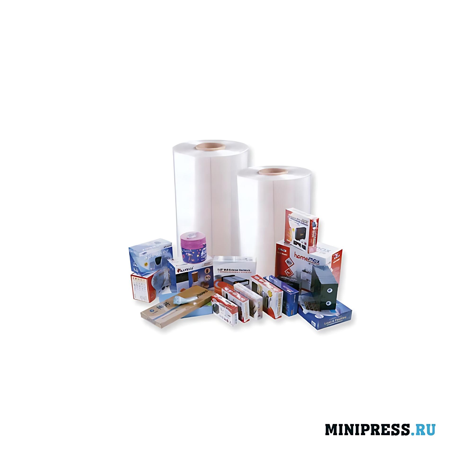 Упаковка товаров пленочным термоусадочным оборудованием