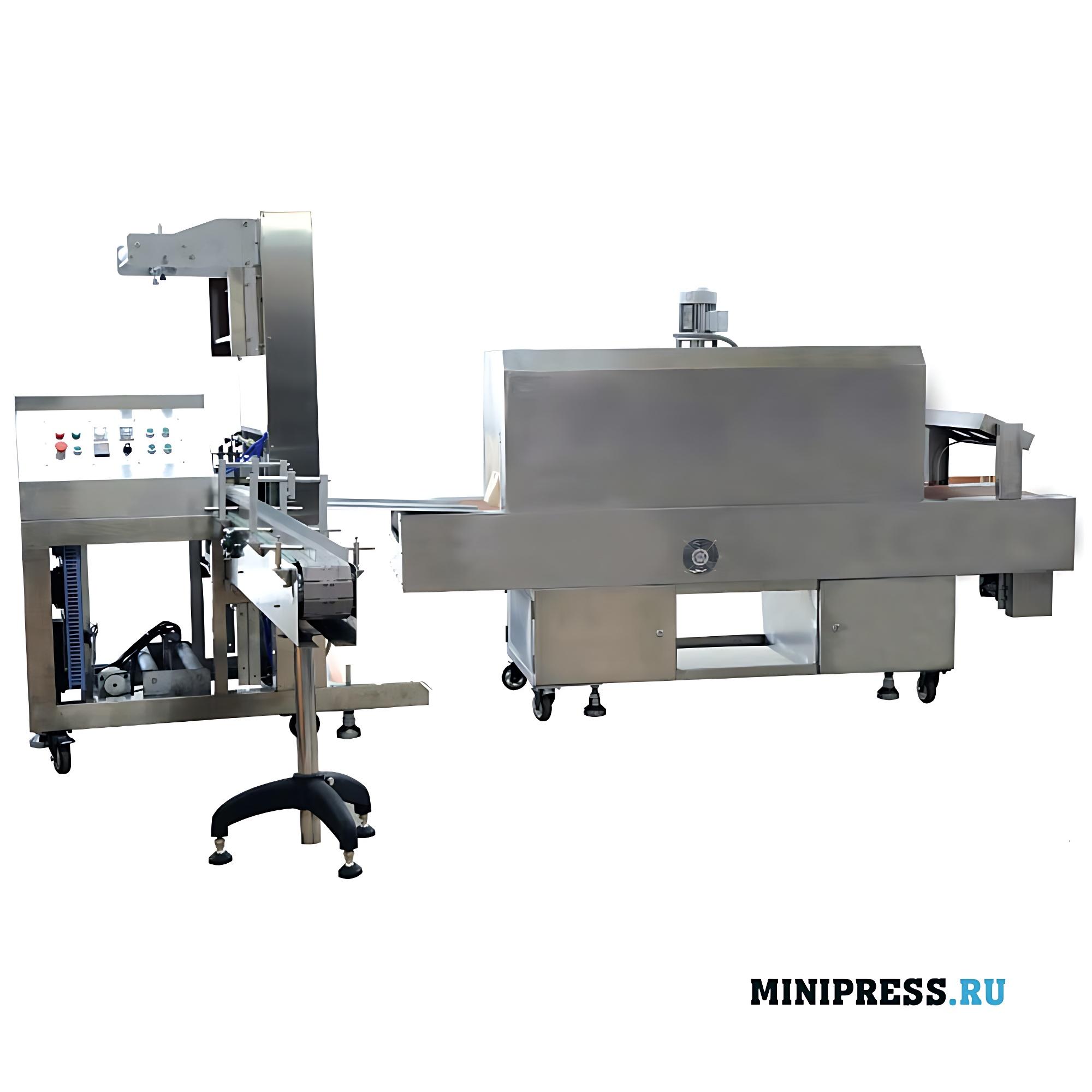 Автоматическое пленочное термоусадочное упаковочное оборудование