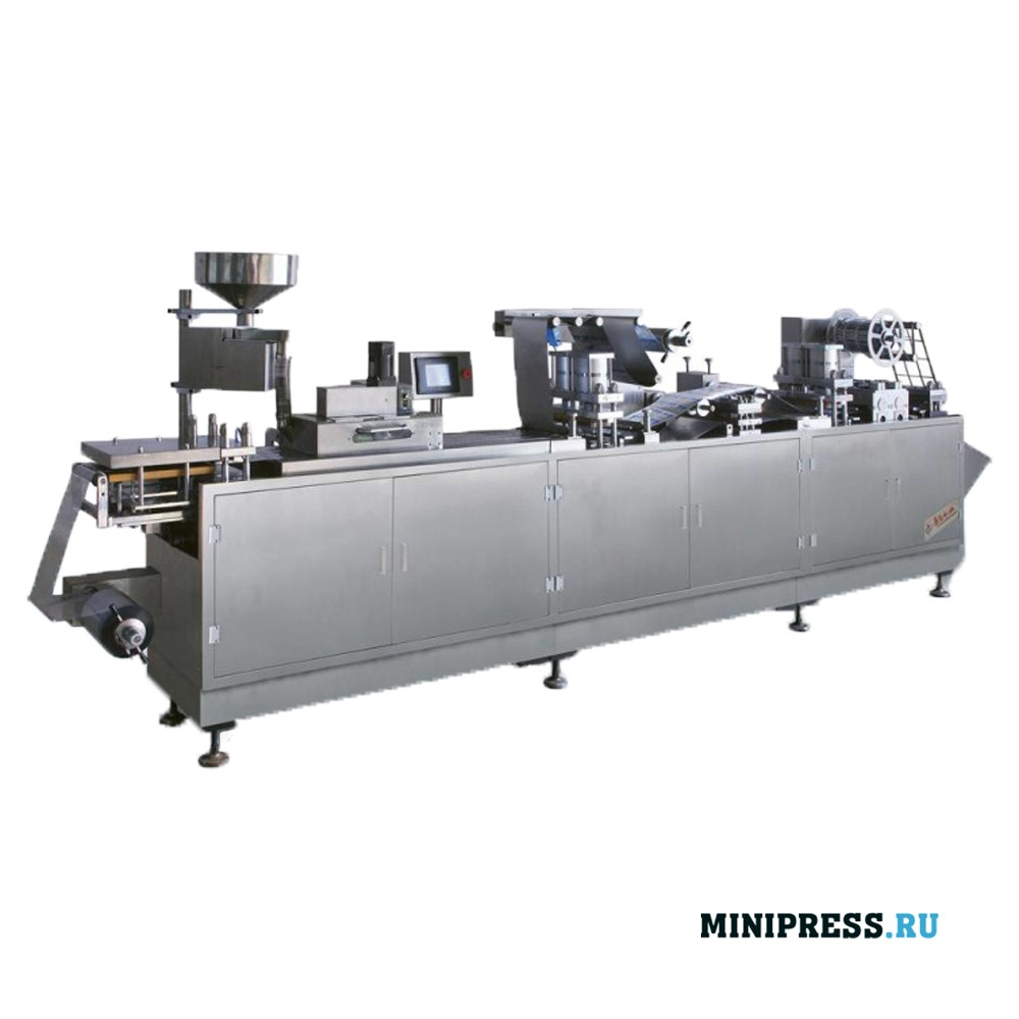 Автоматическое упаковочное оборудование плотной герметизации Алюминий/Пластик
