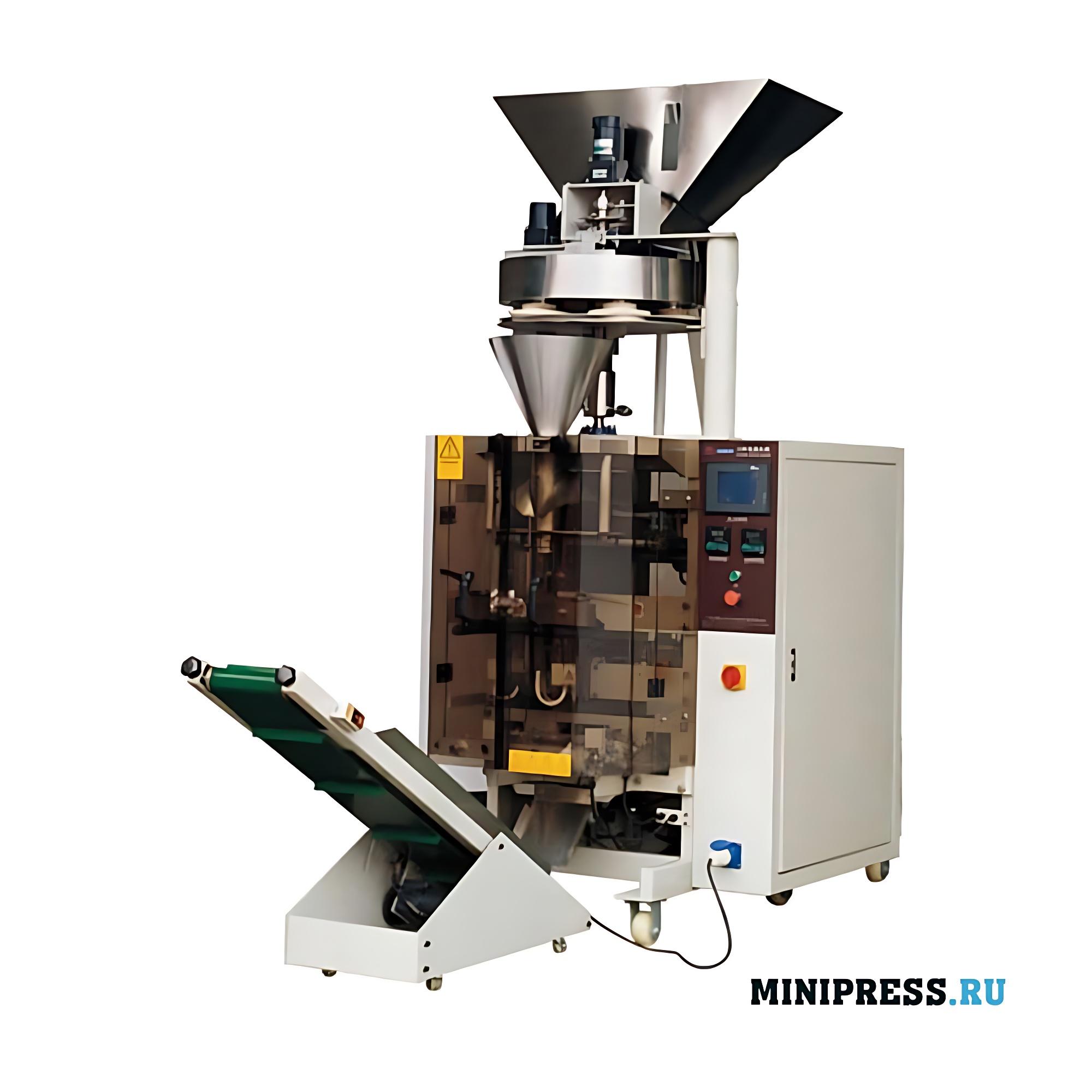 Автоматическое вертикальное оборудование для упаковки гранул