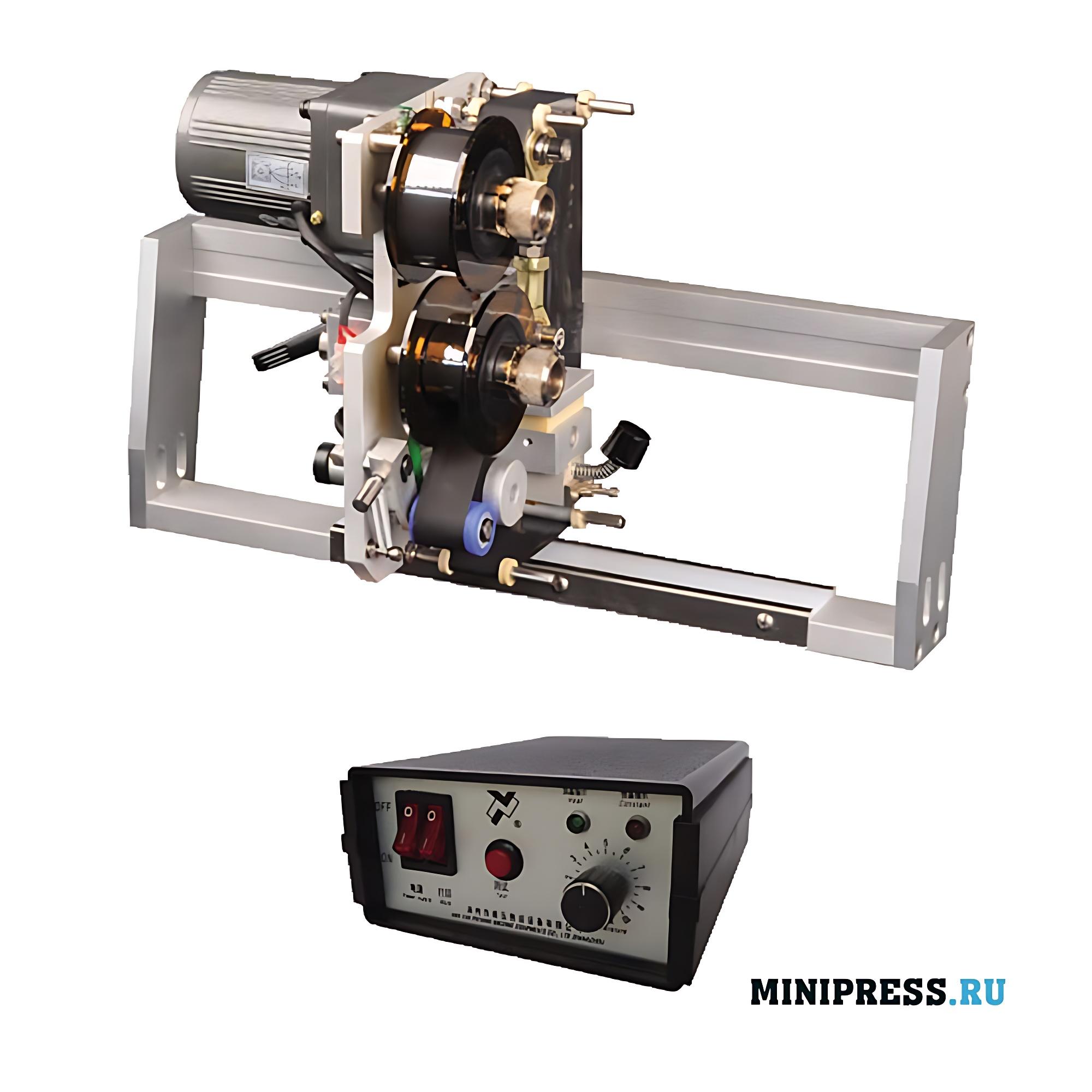 Электрический ленточный принтер для нанесения срока годности и даты