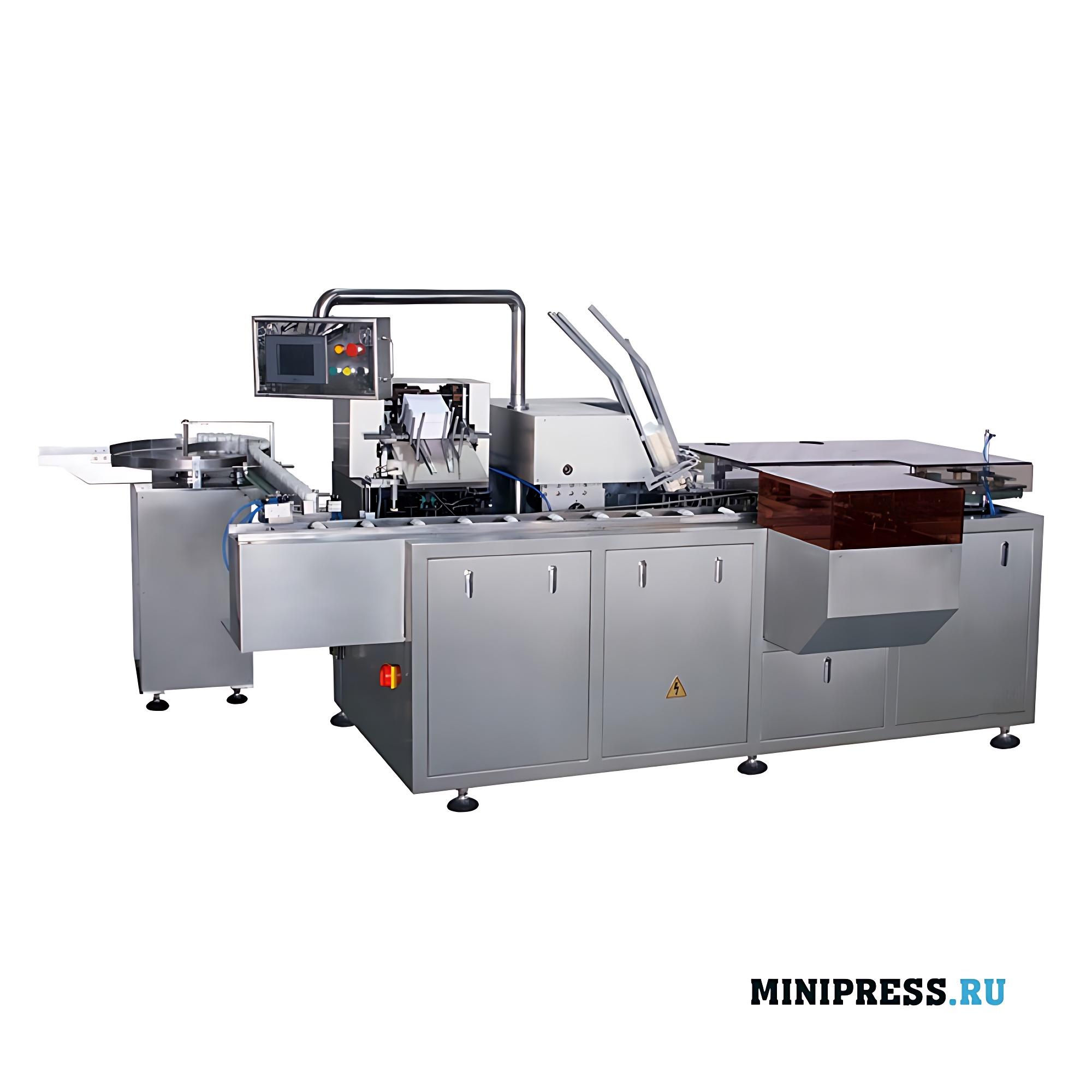 Мультифункциональное автоматическое картонажное оборудование