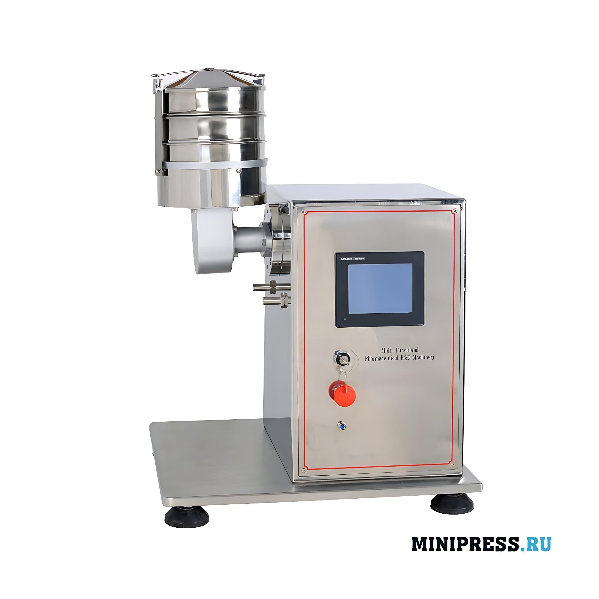 Мультифункциональное экспериментальное фармацевтическое оборудование и Вибрирующий фильтр