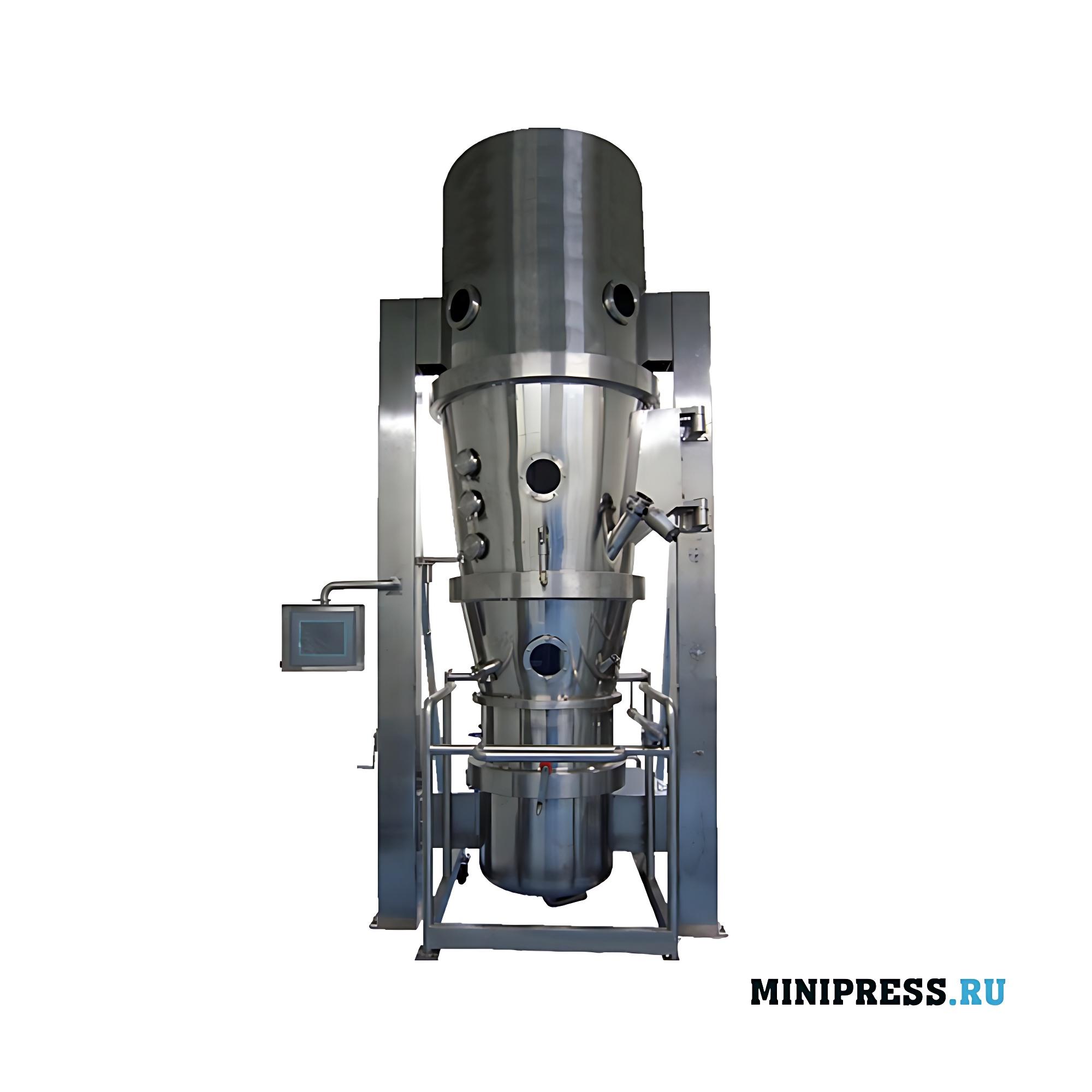 Мультифункциональное оборудование для нанесения покрытия на гранулы