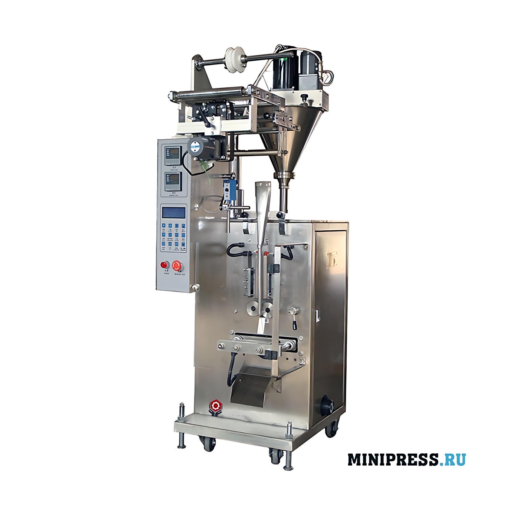 Оборудование для фасовки гранул в пакет типа