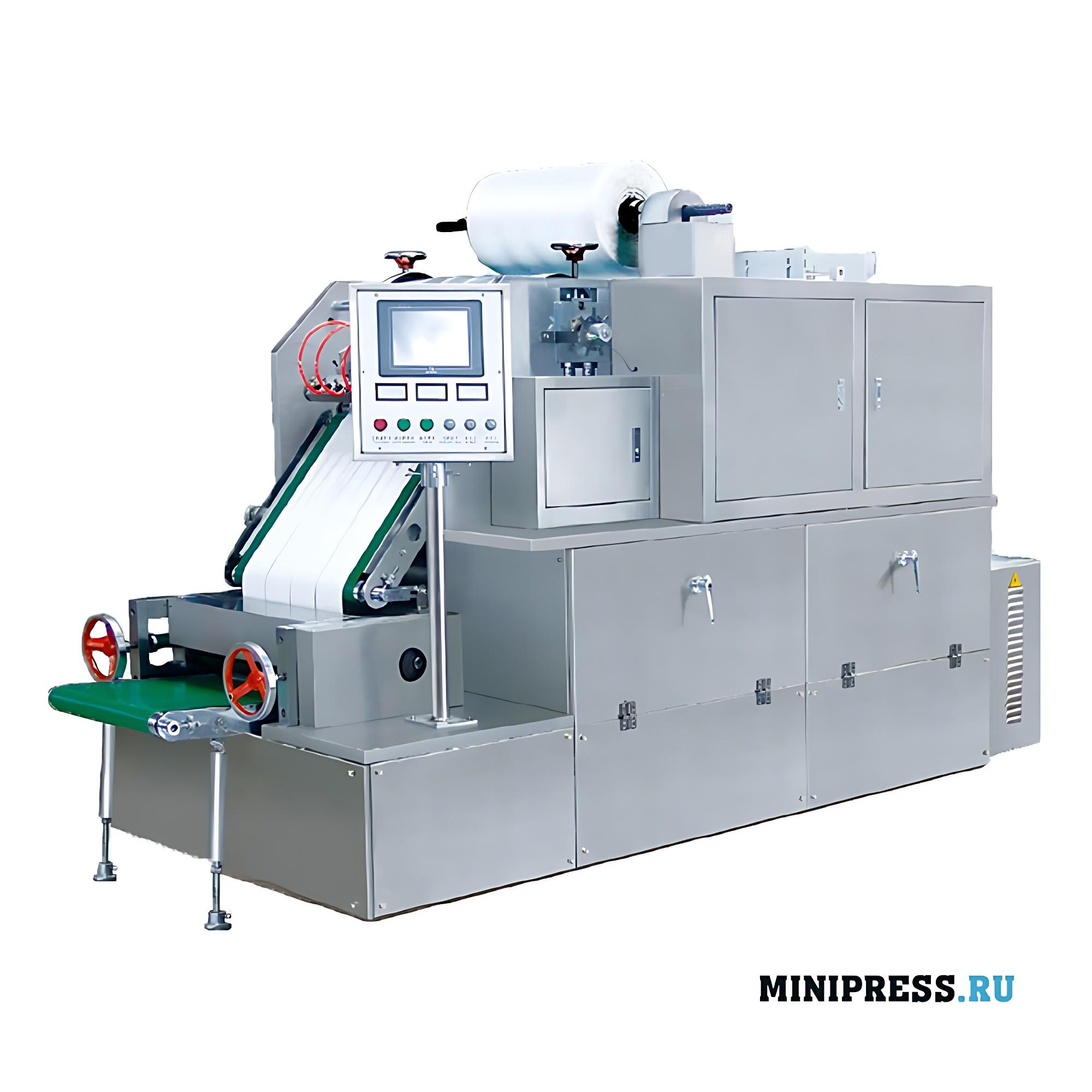 Оборудование для вырубки салфеток на нетканой основе с гидрогелем
