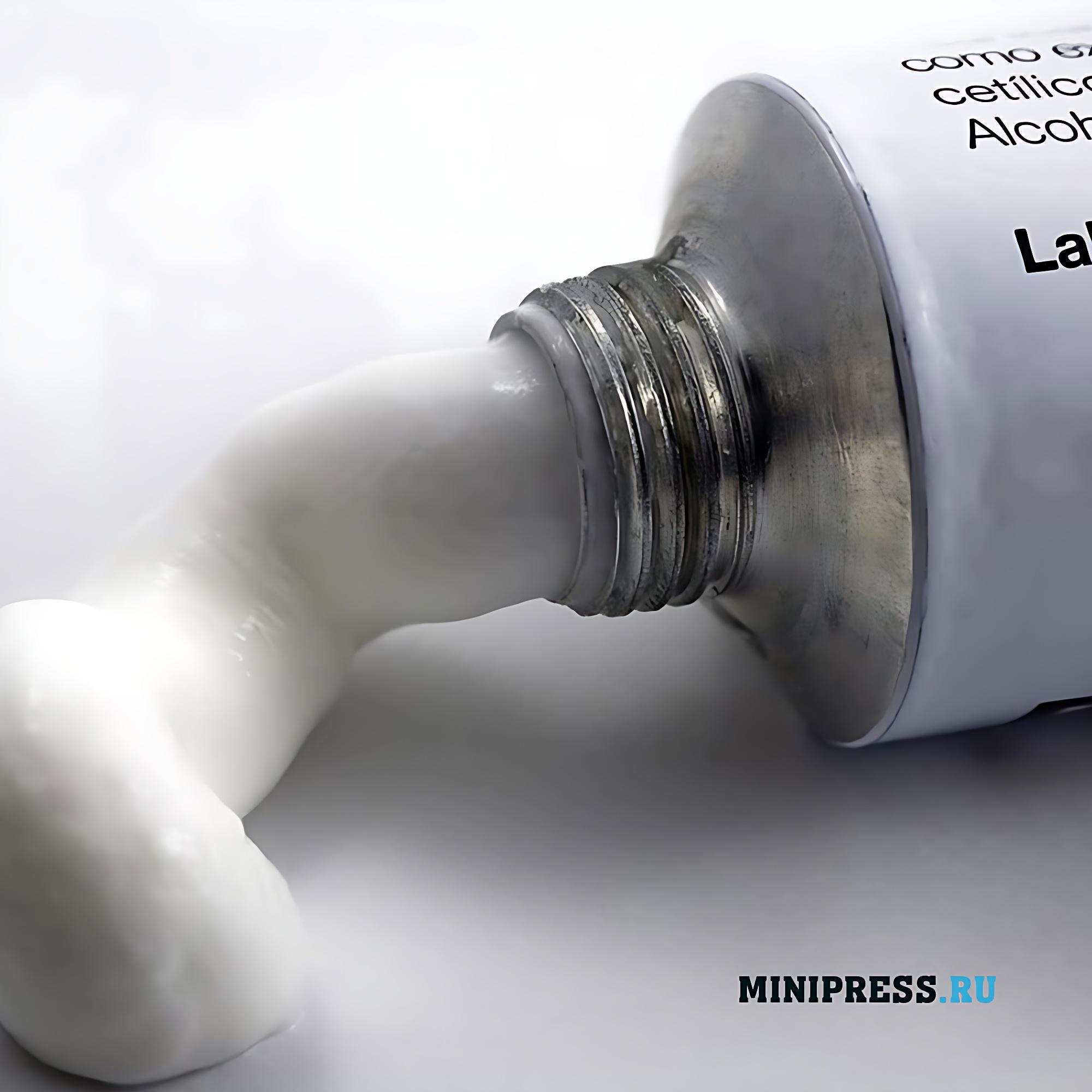 Промышленное производство косметических кремов