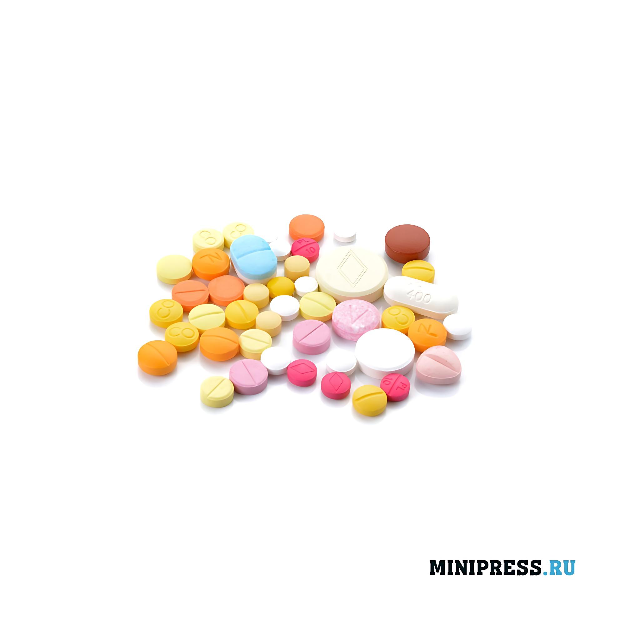 Прессованные таблетки с двух сторон