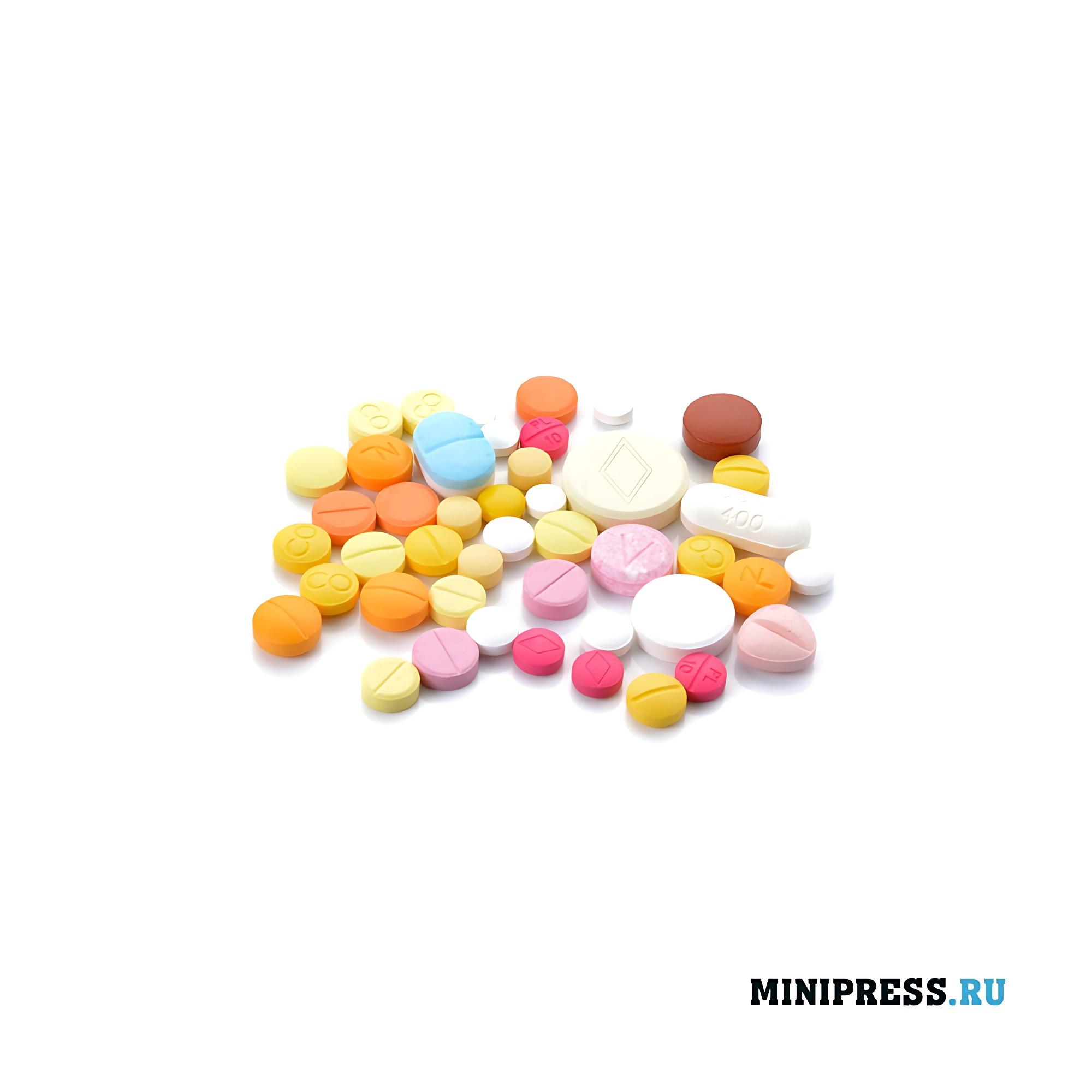 Двухцветные и кольцеобразные таблетки