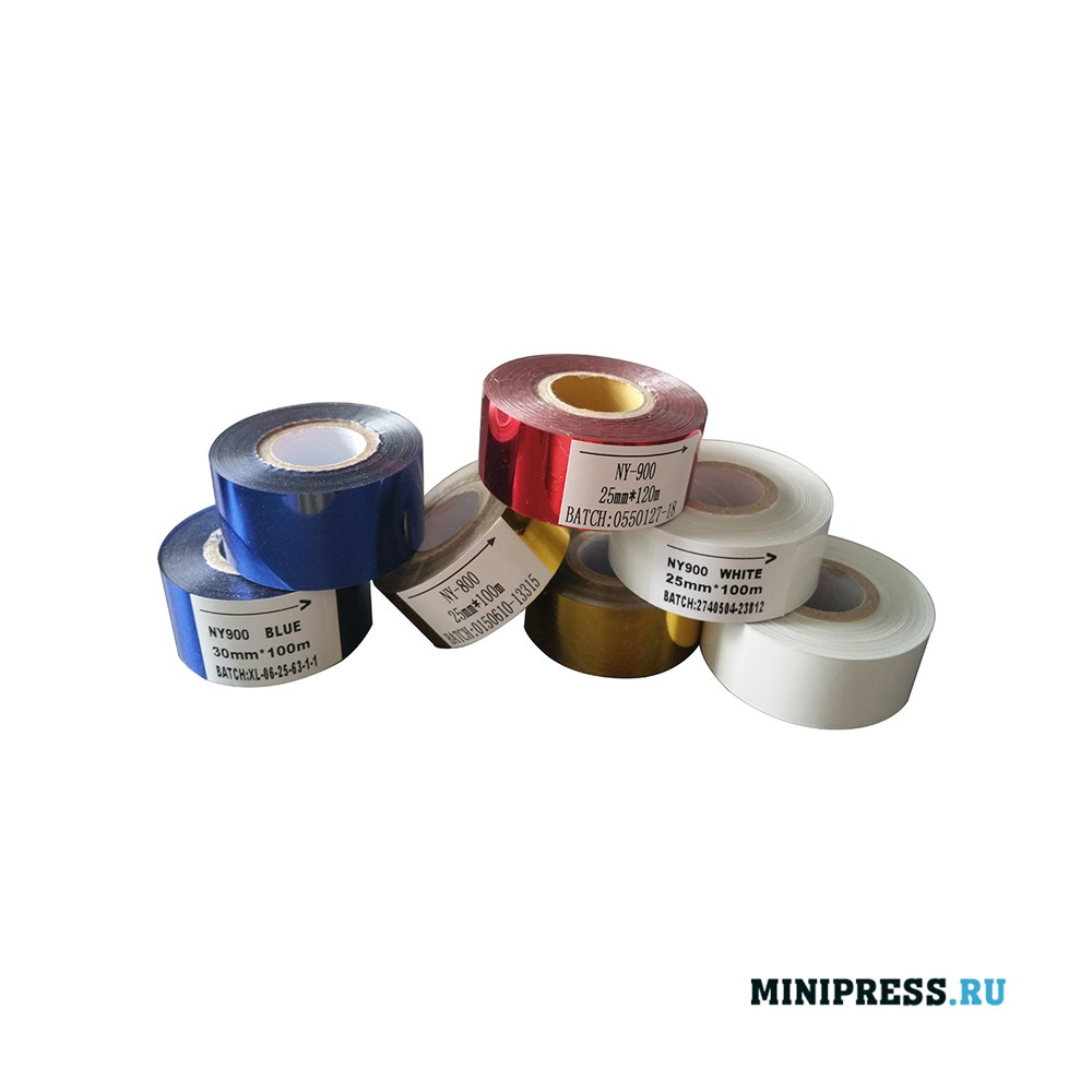 Цветные ленты для кодинг машины