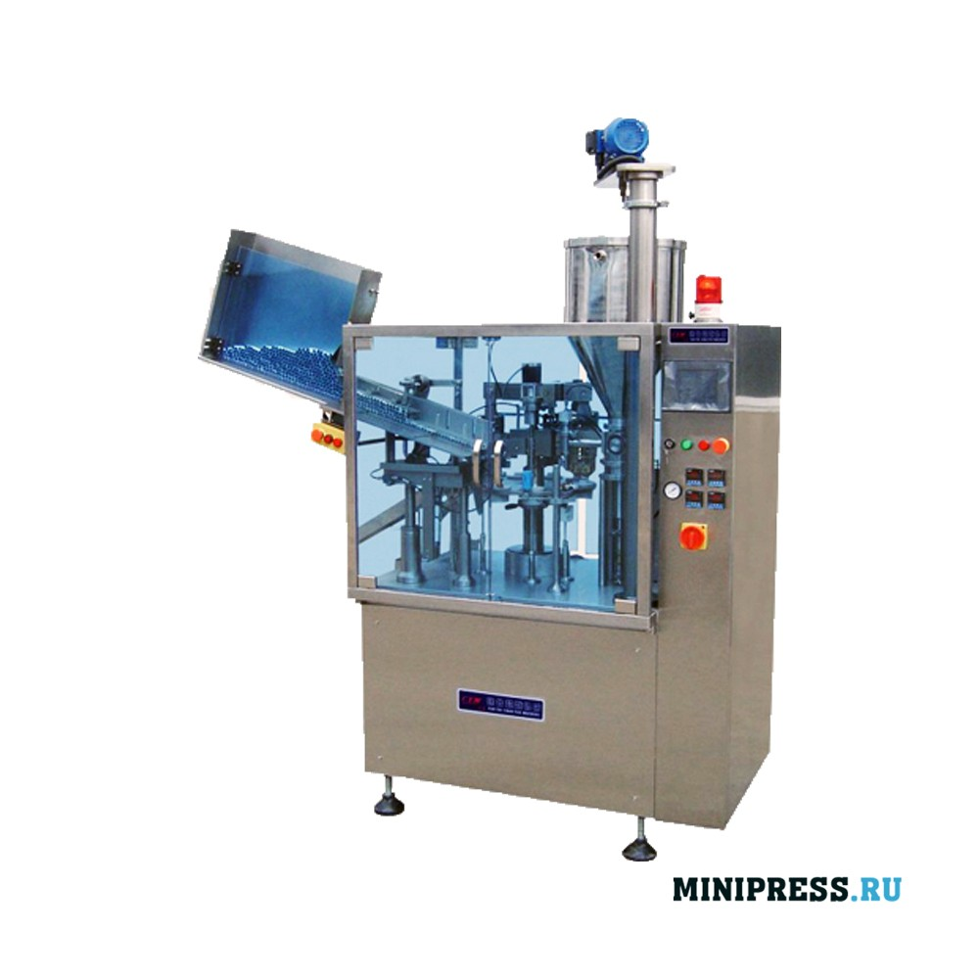 Тубонаполняющая автоматическая машина в пластиковые и ламинированные тубы