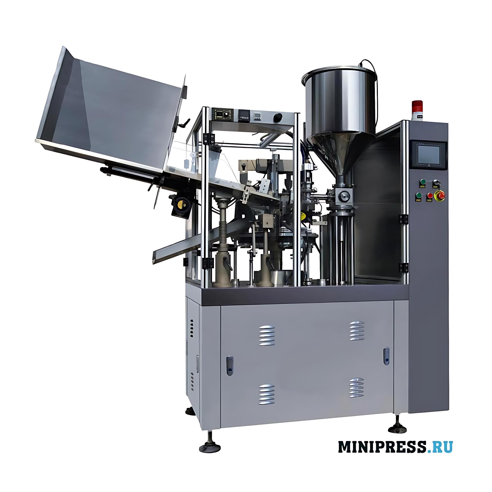 Тубонаполняющая автоматическая машина в пластиковые/ламинированные/металлические тубы