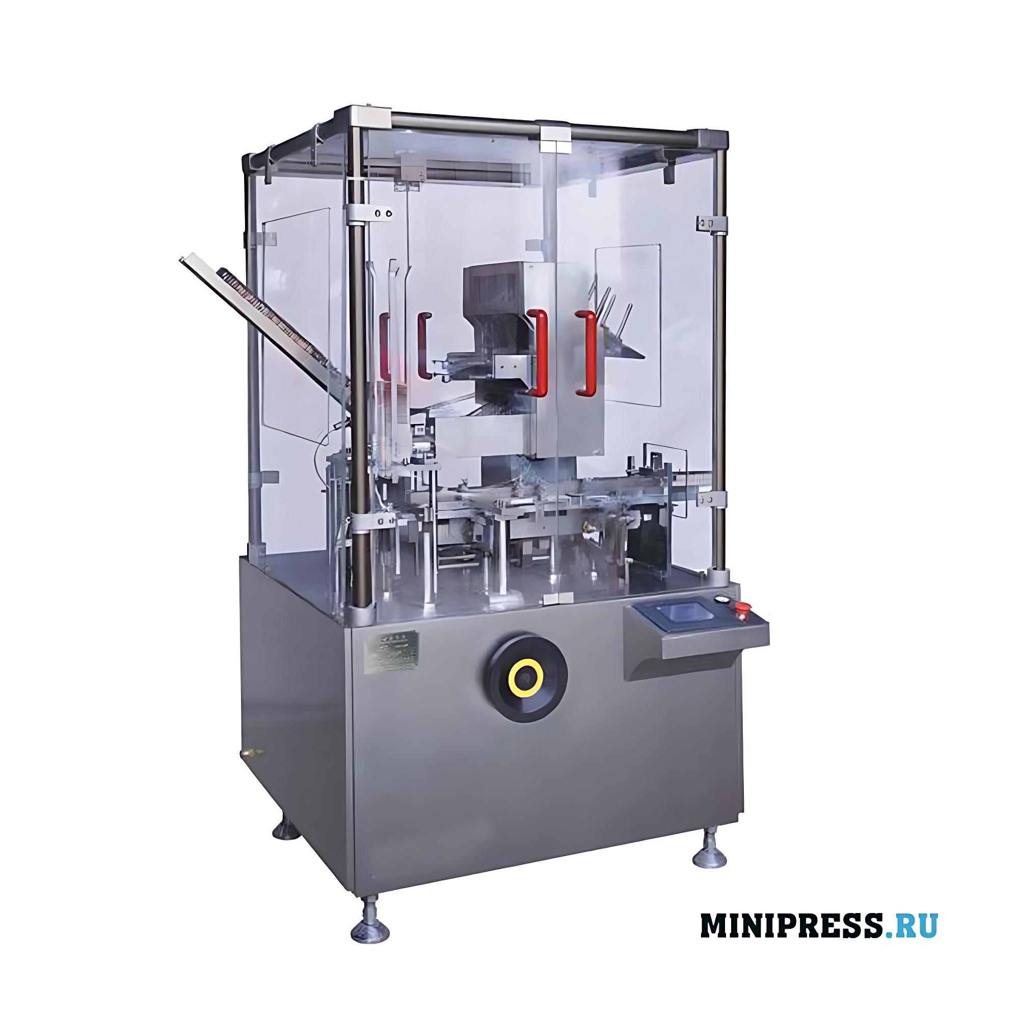 Вертикальная автоматическая картонажная машина