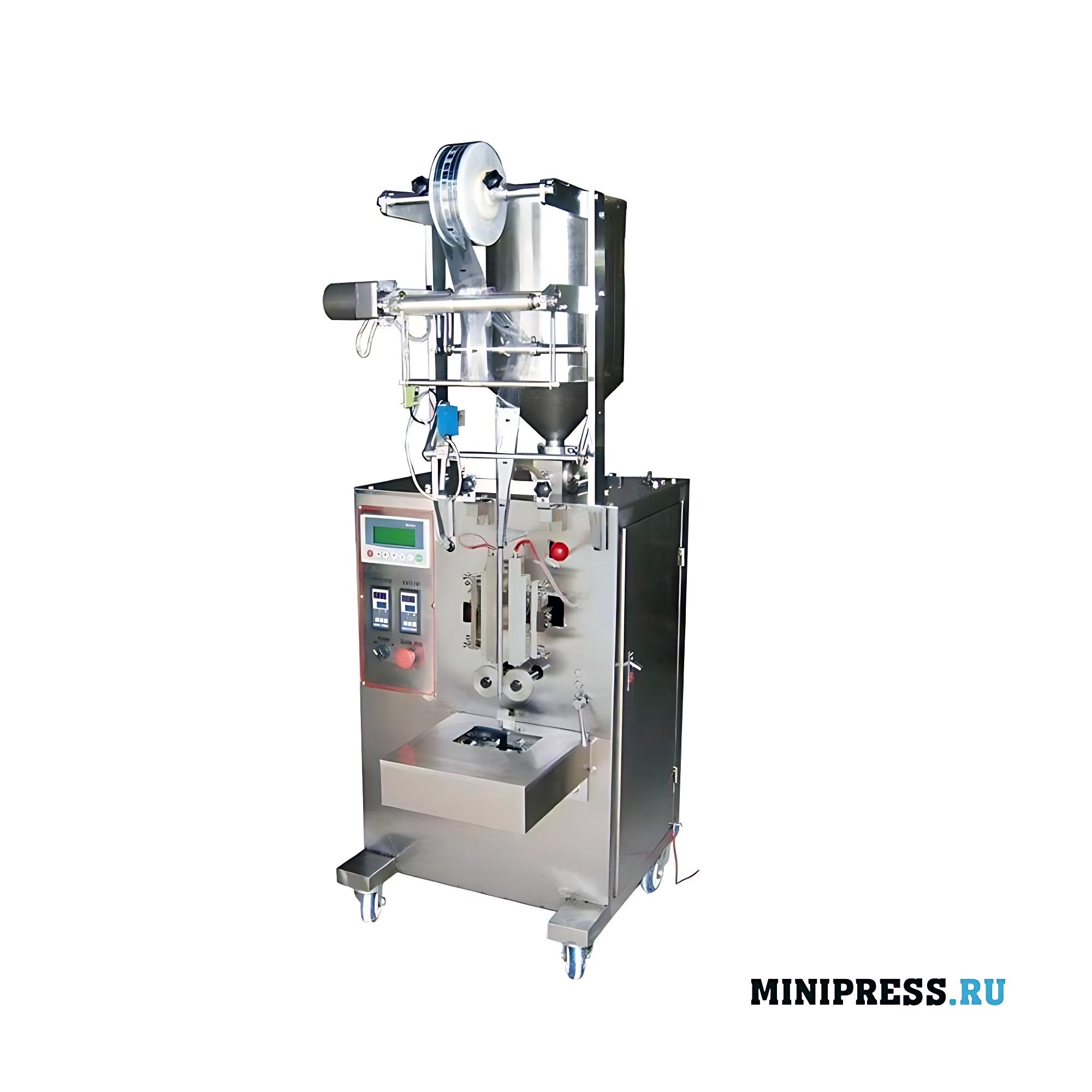 Вертикальное оборудование для фасовки и герметизации