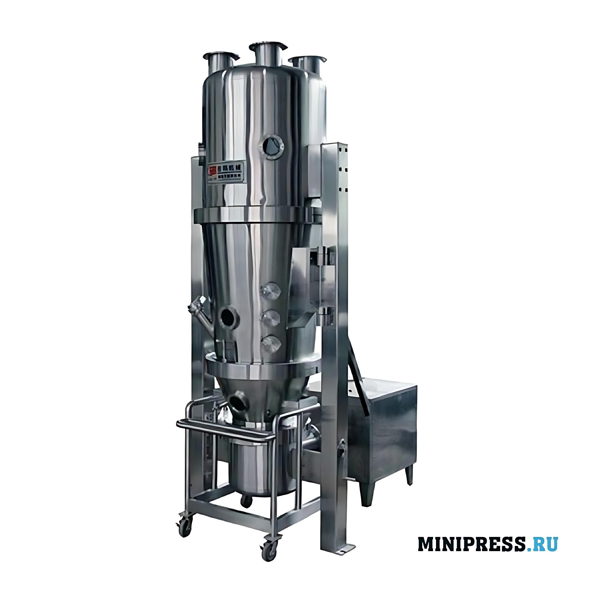 Высокоэффективный гранулятор для сухого гранулирования