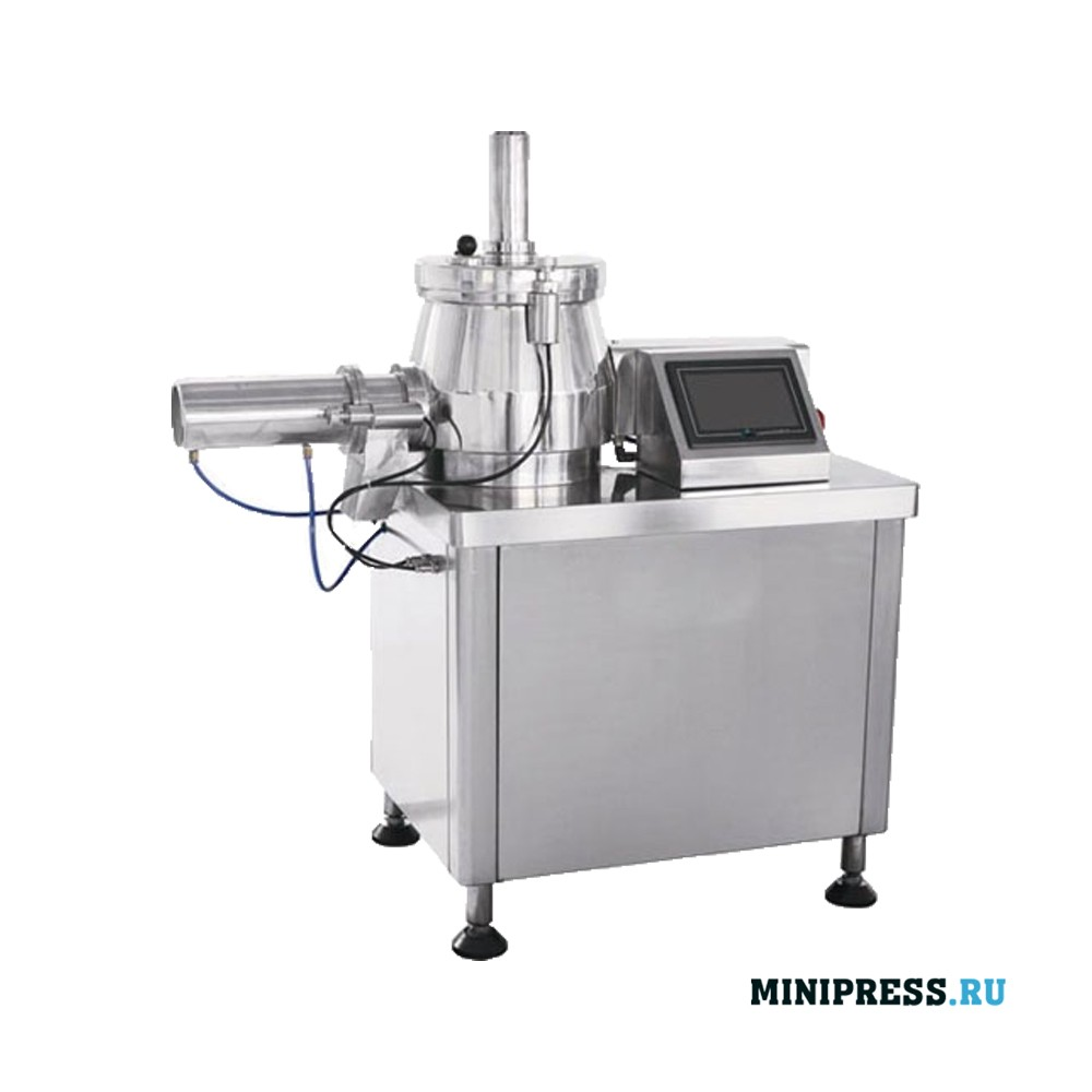 Высокоэффективный смеситель гранулятор для влажного гранулирования