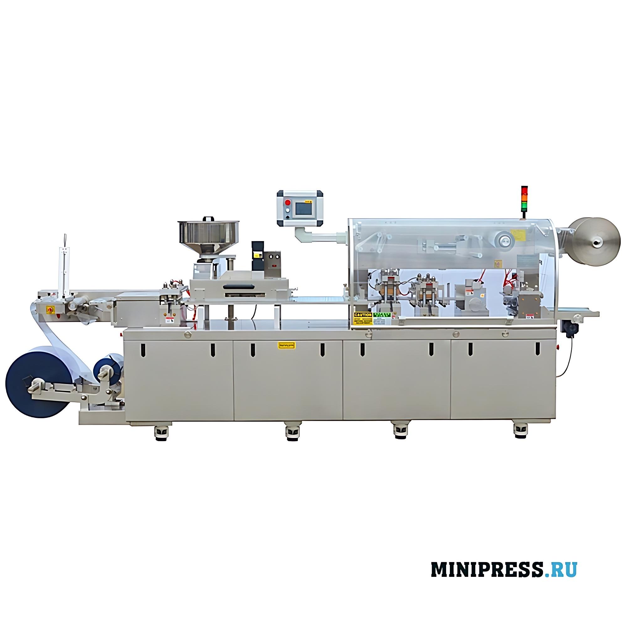 Высокоскоростная упаковочная блистерная машина Алюминий/Алюминий