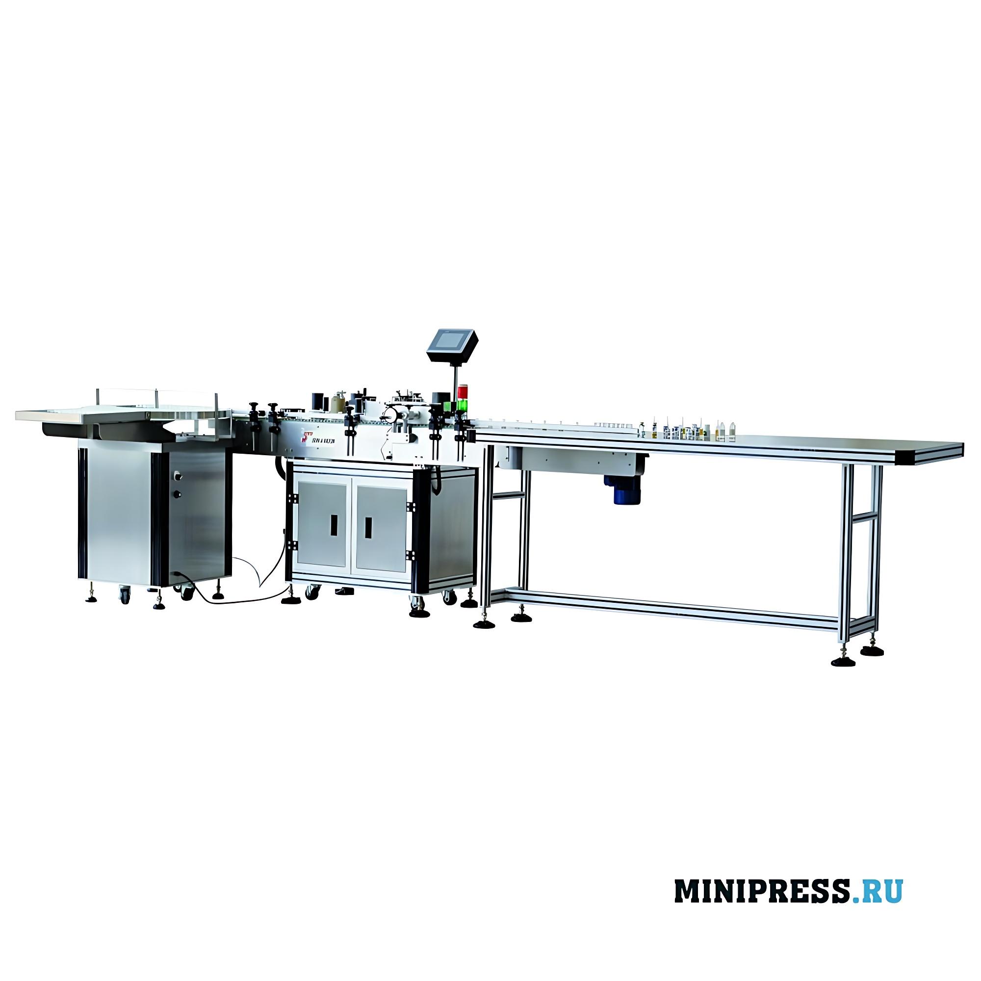 Высокоскоростное оборудование для этикетирования флаконов и ампул