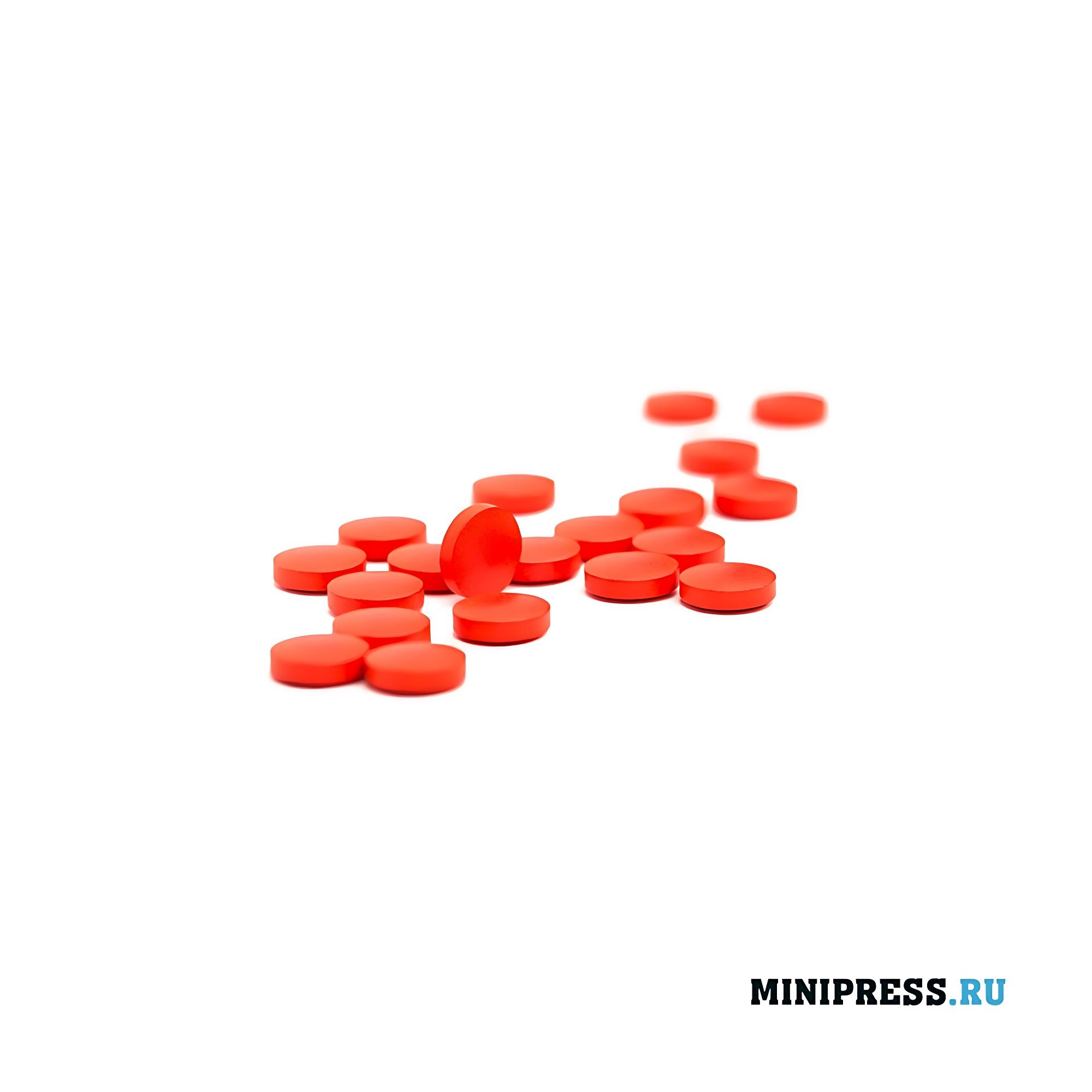 Прессованные таблетки на производстве
