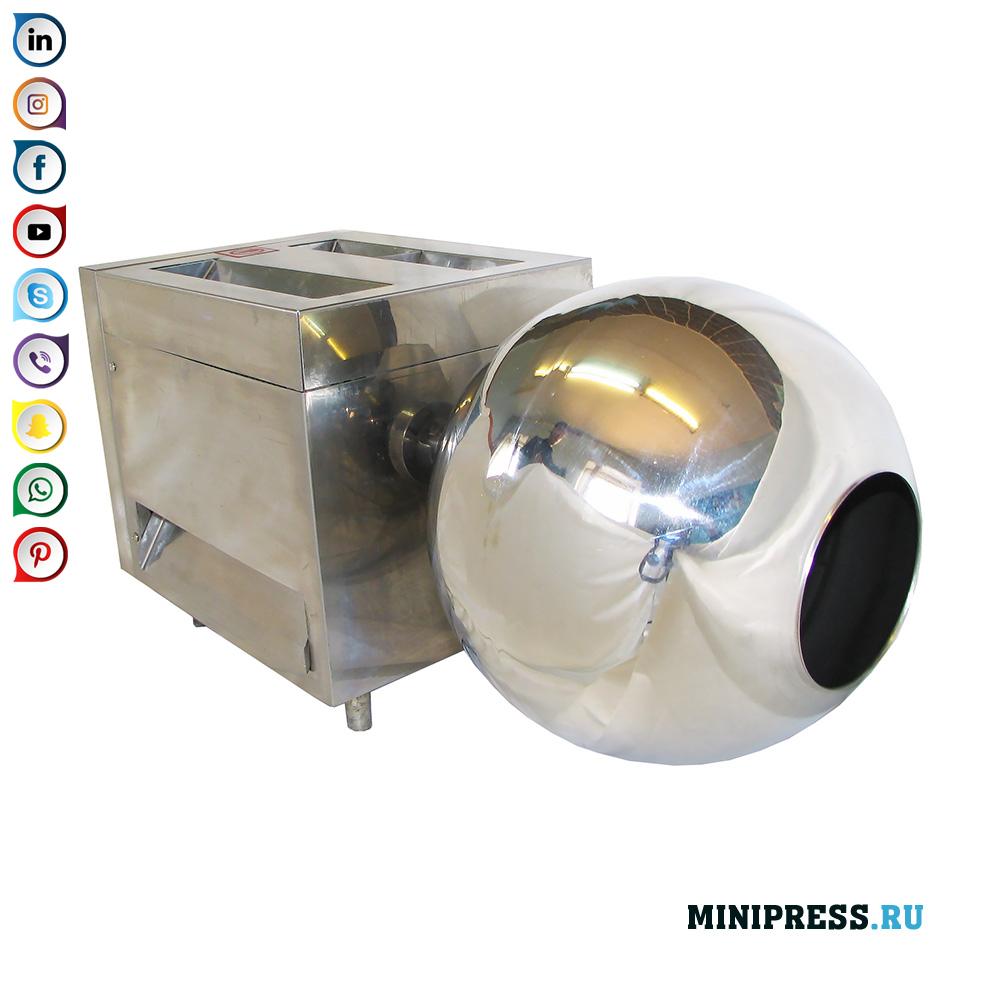 Equip per a la producció de drage i boilies amb un diàmetre de fins a 12 mm