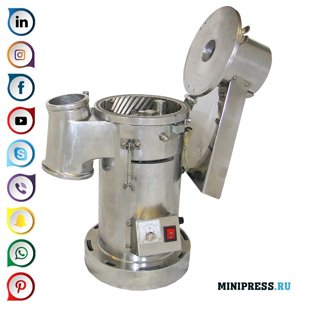 Опрема за мелење суровини во прав во мелници и меленици